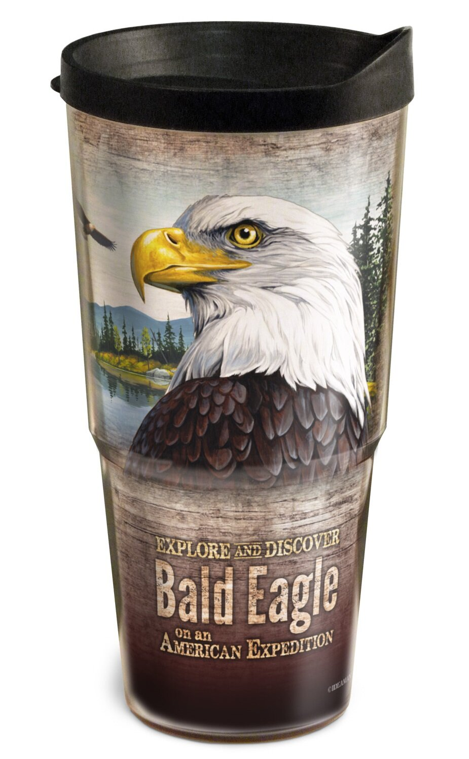 American Expedition Bald Eagle Wildlife 24 Oz Travel Tumbler Wayfair