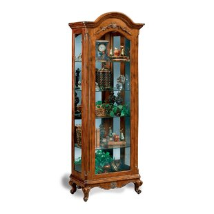 Charlemagne Lighted Curio Cabinet