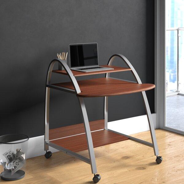 Arched Cherry  Walnut Desk
