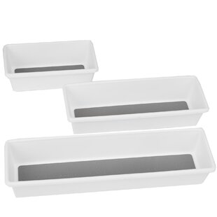 Mind Reader Thin Rectangle 3 Piece Drawer..