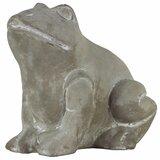 Sitting Frog Statue Wayfair Ca