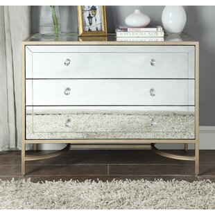 Bargain Wokingham 3 Drawer Nightstand by Everly Quinn