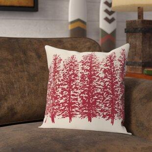 Amak Through the Woods Flower Print Throw Pillow