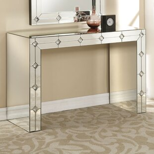 Blaire Mirrored Console Table By Rosdorf Park
