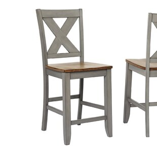 Affordable Pyper X Back 24 Bar Stool (Set of 2) by Gracie Oaks Reviews (2019) & Buyer's Guide
