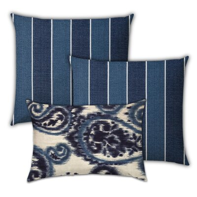 Strathern Berry Pie Indoor / Outdoor Pillow by Bungalow Rose Wonderful