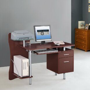Wood Computer Desk by Techni Mobili Discount