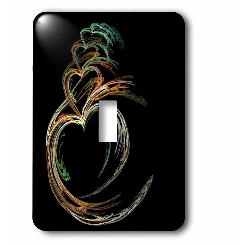 3drose Digital Art Hearts 1 Gang Toggle Light Switch Wall Plate Wayfair
