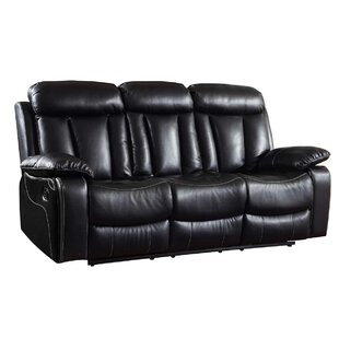 Shop Ullery Upholstered Living Room Recliner Reclining Sofa by Winston Porter