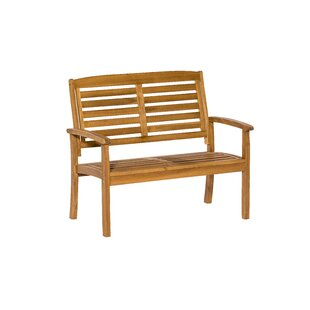 Collum Wooden Bench Image