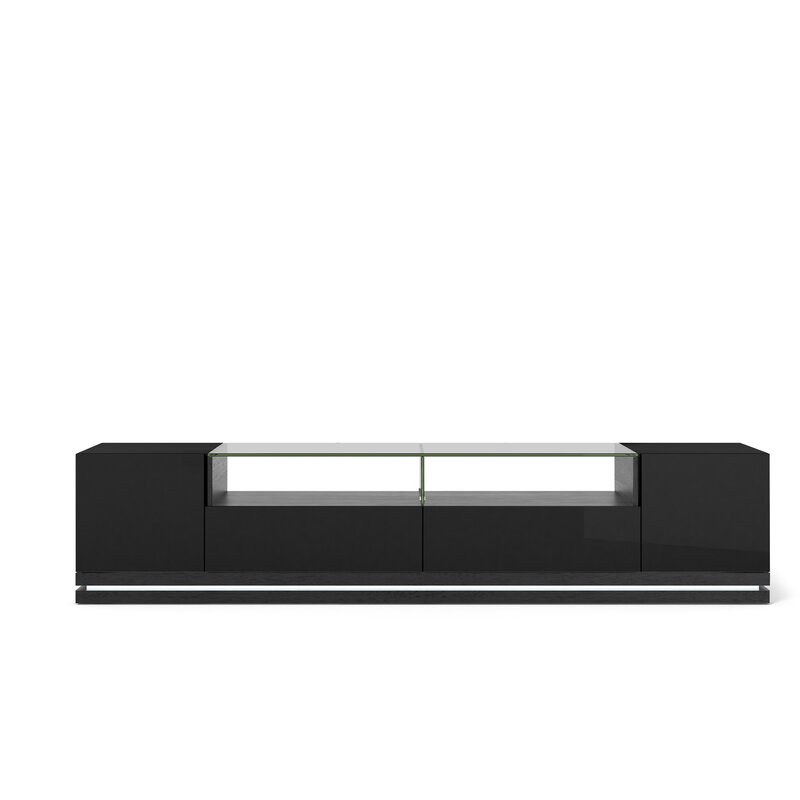 Allmodern Tv Stand For Tvs Up To 88 Reviews Wayfair