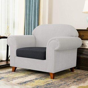 Box Cushion Sofa Slipcover By Symple Stuff
