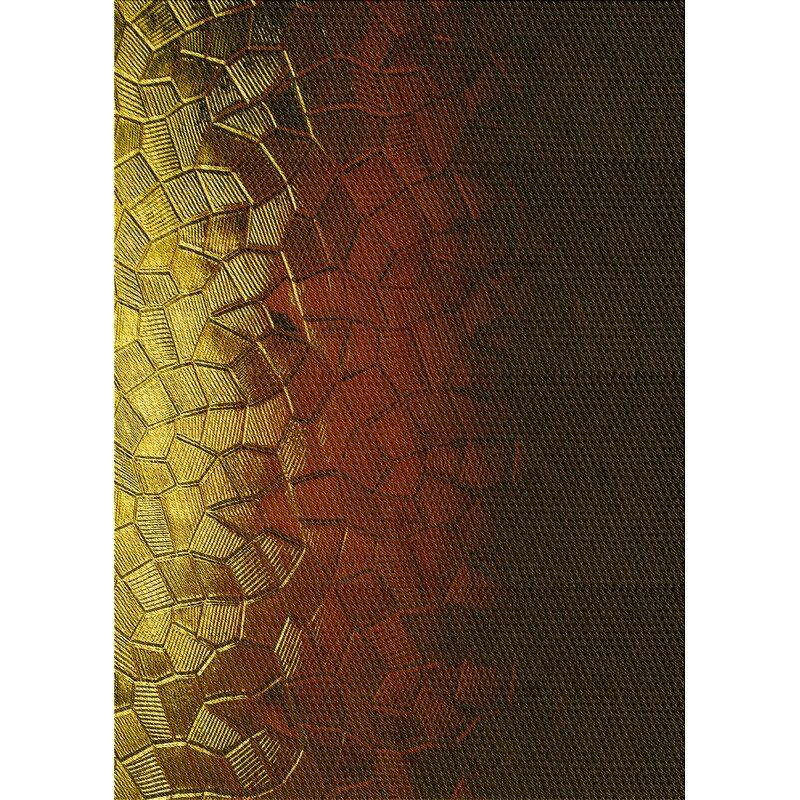 East Urban Home Stockwith Abstract Wool Yellow Area Rug Wayfair