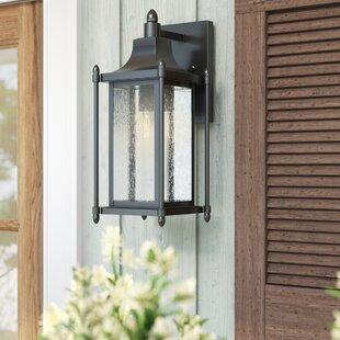 Winston Porter Vanhouten 1-Light Outdoor Wall Lantern