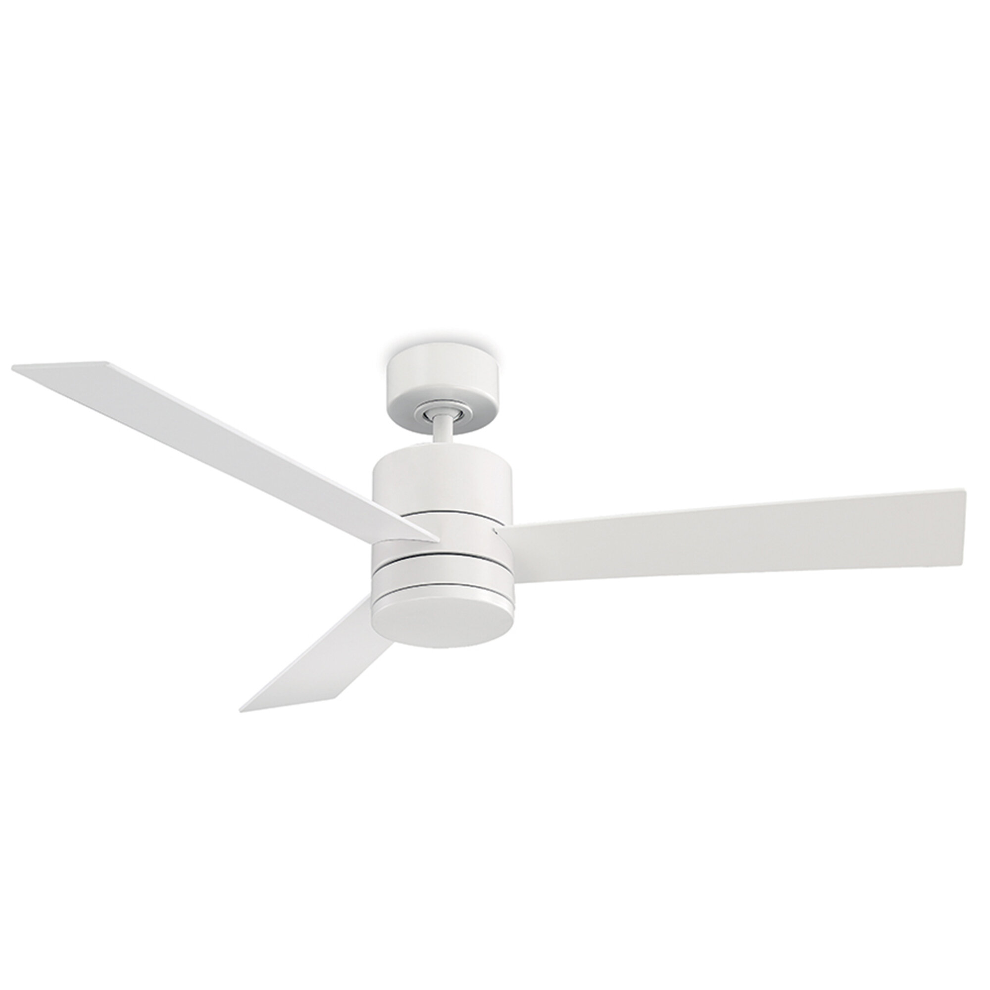 Modern Forms 52 Axis 3 Blade Outdoor Led Smart Standard Ceiling Fan With Remote Control And Light Kit Included Reviews Wayfair