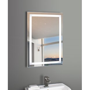 Orren Ellis Price LED Bathroom Mirror