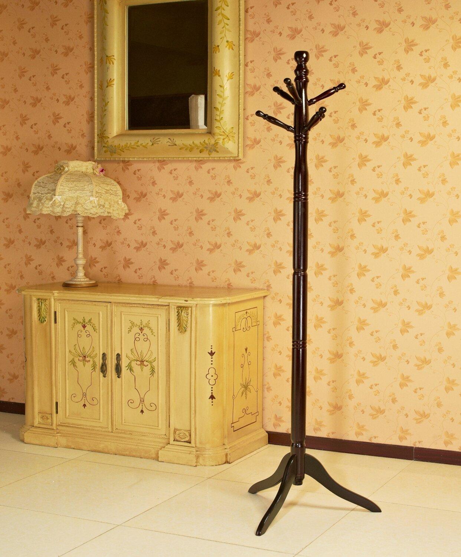 Mega Home Wood Coat Stand   Wayfair