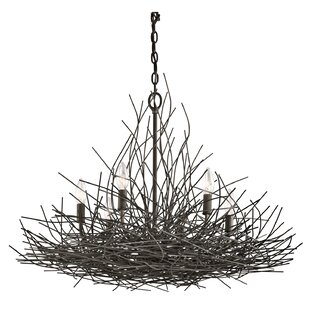 Organique 6-Light Candle-Style Chandelier by Kichler
