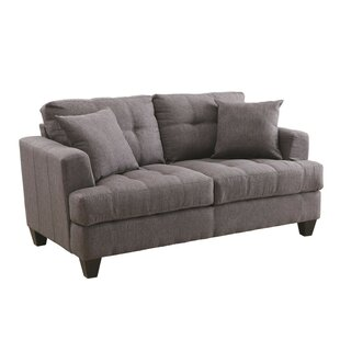 Moxley Upholstered Loveseat by Winston Porter 2019 Sale