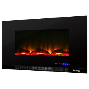 LED Electric Wall Mounted Fireplace Insert by e-Flame USA