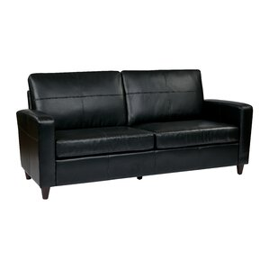 Leather Sofa by Office Sta..