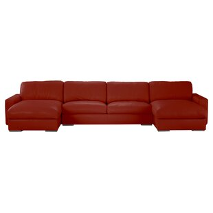 Velva Leather Sectional