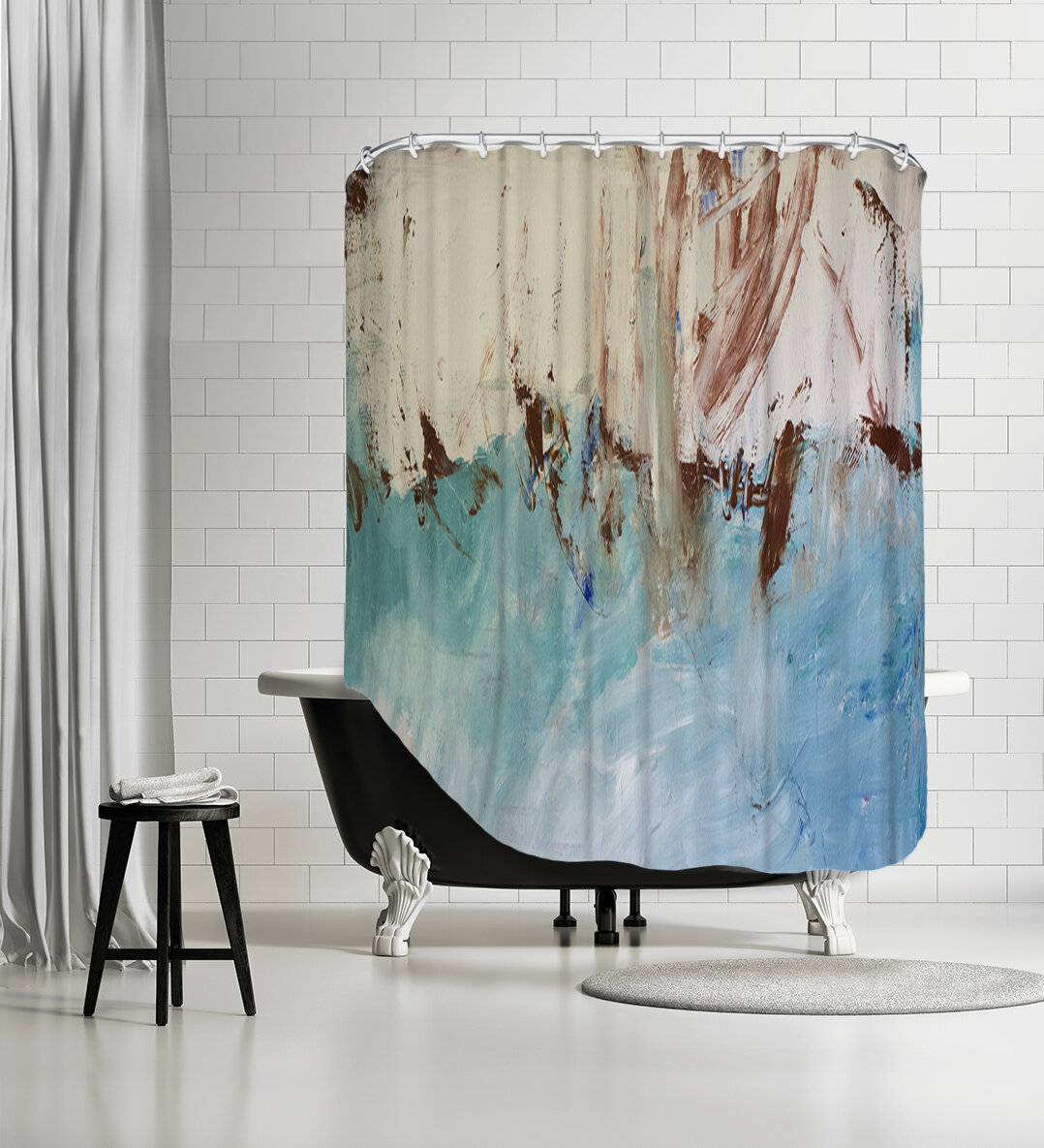 Single Shower Curtain Teen Shower Curtains Shower Liners You Ll Love In 2021 Wayfair
