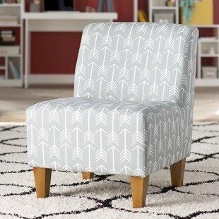 Madiun Arrows Armless Slipper Chair by Wrought Studio