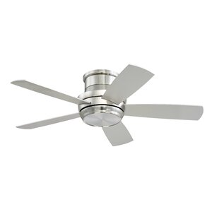 Modern flush mount ceiling fans allmodern save to idea board mozeypictures Images