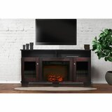 Duckworth TV Stand for TVs up to 65 with Electric Fireplace Included by Red Barrel Studio®