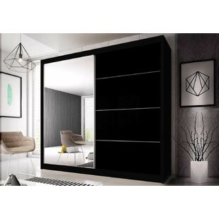 Gulledge Modern 2 Door Sliding Wardrobe By Wrought Studio