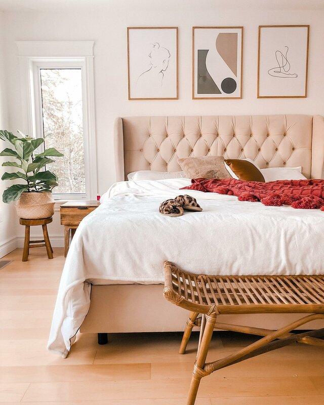 Bohemian Bedroom Design Photo By Wayfair Canada Wayfair