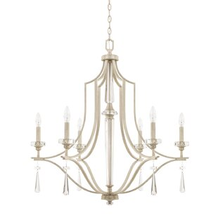 Cael 6-Light Candle-Style Chandelier By Rosdorf Park