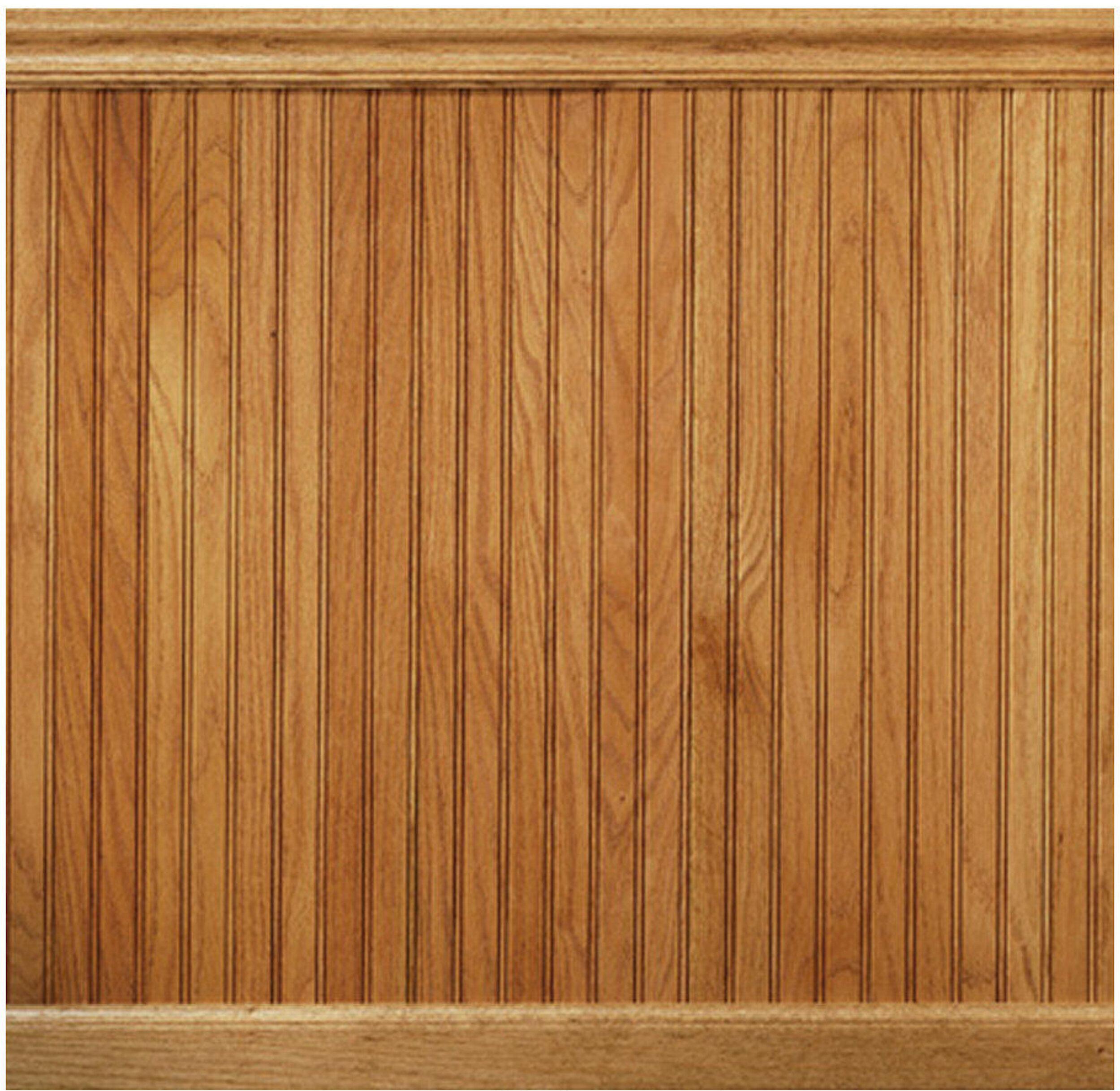 96 solid wood wall paneling in red oak rh wayfair com wood paneling for walls lowes wood paneling for walls home depot