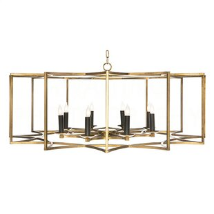 Aidan Gray Chan Geo Candle-Style Chandelier
