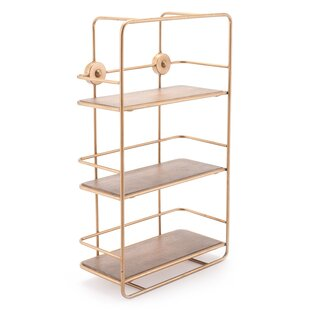 Darci Stairs Etagere Bookcase