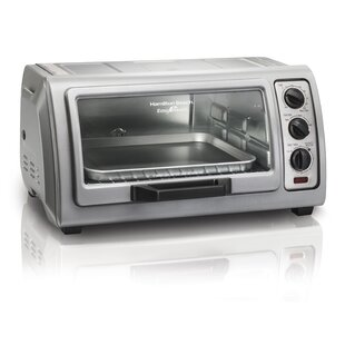 0.36 Cu. Ft. Easy Reach Toaster Oven with Roll-Top Door