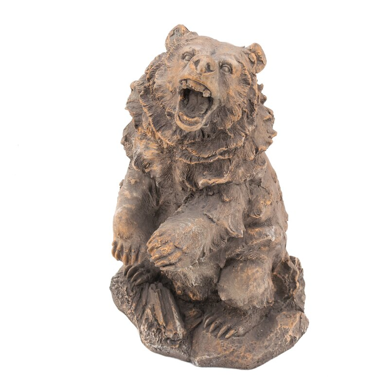 Beautiful Bear Garden Statue