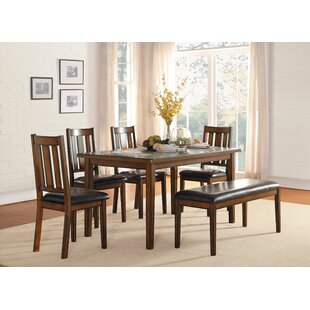 Chet 6 Piece Dining Set by Millwood Pines