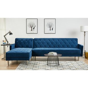 Outstanding Daughtrey Reversible Sleeper Sectional Inzonedesignstudio Interior Chair Design Inzonedesignstudiocom