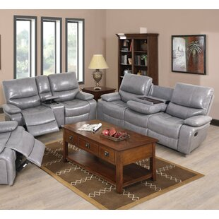 Jossi PU 2 Piece Reclining Living Room Se..