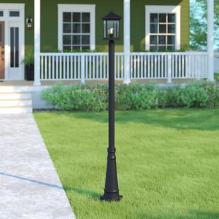 Lovette Traditional 1-Light 112.25'' Post Light by Sol 72 Outdoor