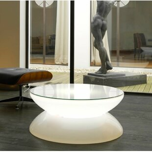 Blanca LED Plastic Coffee Table Orren Ellis