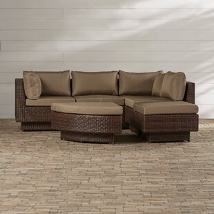 Cournoyer 4 Piece Sectional Set with Cushions