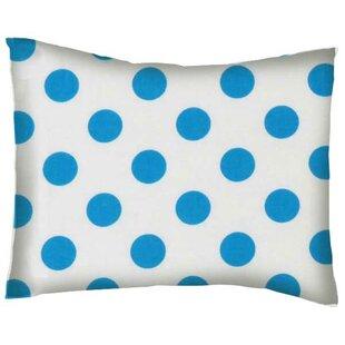 Polka Dots Cotton Percale Pillowcase BySheetworld
