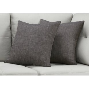 Cronin Linen Patterned Throw Pillow (Set of 2)