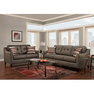 Silverberg Tufted 2 Piece Living Room Set ByWrought Studio