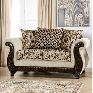 Renetta Rolled Arms Loveseat