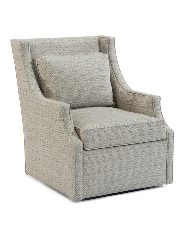 Swivel Arm Chair - Shop the Room! Sarah Richardson's Ontario Living Room