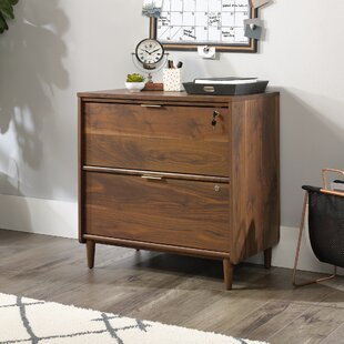 Cutrer 2 Drawers Lateral Filing Cabinet